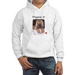 SWEET DOG LOOK Hooded Sweatshirt