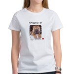 SWEET DOG LOOK Women's T-Shirt