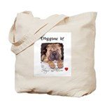 SWEET DOG LOOK  Tote Bag