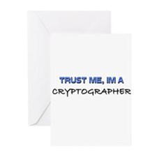 Trust Me I'm a Cryptographer Greeting Cards (Pk of