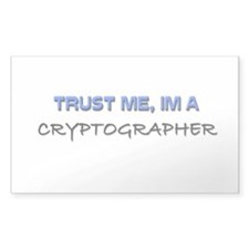 Trust Me I'm a Cryptographer Rectangle Decal