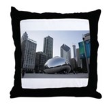 Chicago, Illinois Throw Pillow