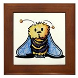 Bee Secrets Framed Tile