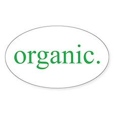 Organic Oval Decal