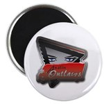 Austin Outlaws Magnet