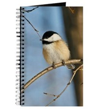Black Capped Chickadee Journal