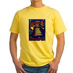 Starry Night Philadelphia Yellow T-Shirt