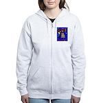 Starry Night Philadelphia Women's Zip Hoodie