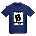 Rated B: Birder Kids Dark T-Shirt