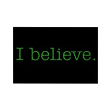 I Believe (Alien) Rectangle Magnet (10 pack)