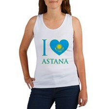 I Love Astana Women's Tank Top