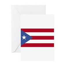 Unique Boricua Greeting Card