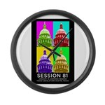 Session 81 Large Wall Clock