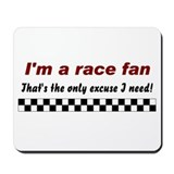 Cool Drag racing Mousepad