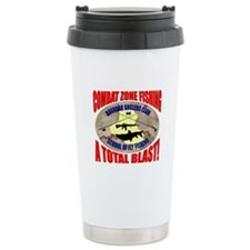 Baghdad Anglers Club Ceramic Travel Mug