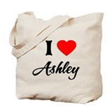 Cute Ashley design Tote Bag