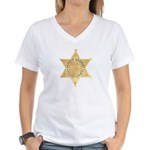 Tulare County Sheriff Women's V-Neck T-Shirt