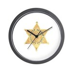 Tulare County Sheriff Wall Clock