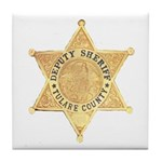 Tulare County Sheriff Tile Coaster