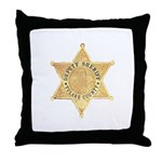 Tulare County Sheriff Throw Pillow