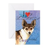Norwegian Lundehund Greeting Cards (Pk of 10)
