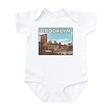 Brooklyn Bridge Infant Creeper