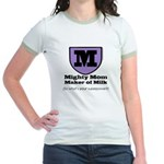 Mighty Mom Jr. Ringer T-Shirt