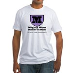 Mighty Mom Fitted T-Shirt