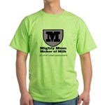 Mighty Mom Green T-Shirt