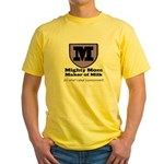 Mighty Mom Yellow T-Shirt