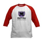 Mighty Mom Kids Baseball Jersey