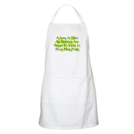 Stop Overpopulation BBQ Apron