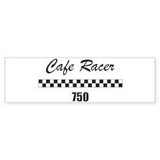 Cafe Racer 750 Bumper Bumper Sticker