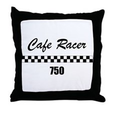 Cafe Racer 750 Throw Pillow