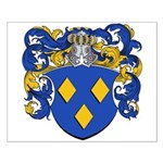 Schryver Family Crest Small Poster
