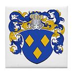 Schryver Family Crest Tile Coaster