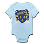 Schryver Family Crest Infant Creeper
