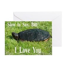 Slow to Say Card