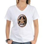 Irving Police Women's V-Neck T-Shirt