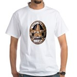 Irving Police White T-Shirt
