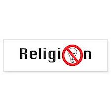 Religion (for un-enlightened Bumper Sticker