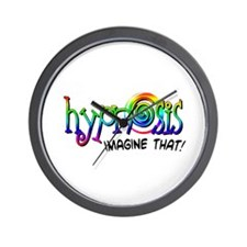 Hypnosis - Imagine That! Wall Clock