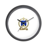 GAUTIER Family Crest Wall Clock