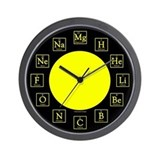 Chemistry Geek Wall Clock