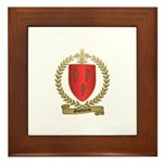 GAUTHREAU Family Crest Framed Tile