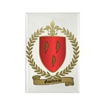 GAUTHREAU Family Crest Rectangle Magnet (100 pack)
