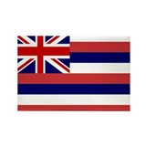 Hawaii State Flag Rectangle Magnet