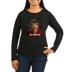 YOU BETCHA Women's Long Sleeve Dark T-Shirt
