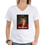 YOU BETCHA Women's V-Neck T-Shirt