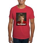 YOU BETCHA Sarah Palin Wink Dark T-Shirt